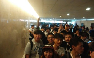 Xiaomi's rabid fans waiting to buy Xiaomi's latest products.