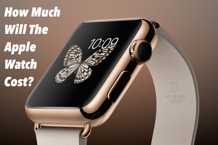 The Michael Report Apple Watch Cost
